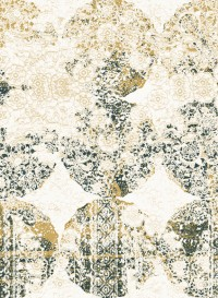 Lace indigo transitional wallpaper by Lene Toni Kjeld