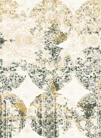 Lace indigo, papier-peint évolutif par Lene Toni Kjeld