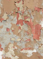 Peeling paint wallpaper by Ella Doran