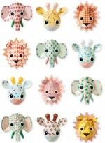 Wild Animals wallpaper Sweet by Studio Ditte