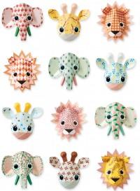 Papier peint Animaux Wild Animals Sweet par Studio Ditte