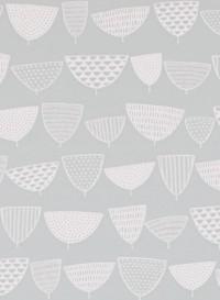Papier peint Allsorts Nordic gris par Missprint