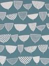 Allsorts Serge duck egg blue wallpaper by Missprint