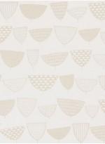Allsorts Goldfish beige wallpaper by Missprint