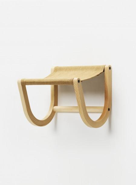Wall mounted bike rack mustard by Zilio Aldo