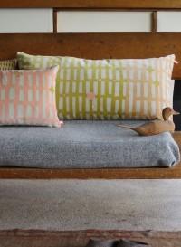 Cotton velvet cushion - Grand Rectangle