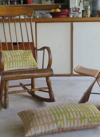 Cotton velvet cushion - Small