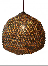 Lampe suspension Ovni taille grande