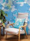 Papier peint peeling paint par Ella Doran