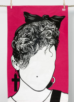 Cotton Tea towel - Madonna