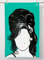 Cotton Tea towel - Amy Winehouse