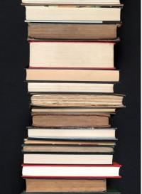 Pages, papier-peint pile de livres tranches par Tracy Kendall