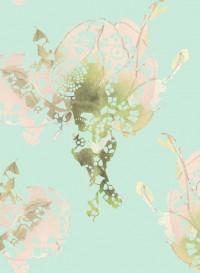 Rose, transitional wallpaper by Lene Toni Kjeld
