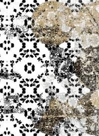 Leaf-Lace transitional wallpaper by Lene Toni Kjeld