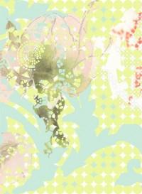 Rose-Wave wallpaper by Lene Toni Kjeld