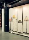 Semi Drum X 2, papier-peint deux lampes par Deb Bowness