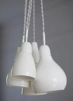 Suspension multiple en porcelaine 24/12 par Kathleen Hills