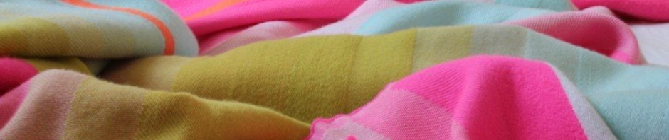 New in today - merino wool throw