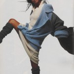 Joseph Tricot ensemble  Date: Elle, November 1985 © Giles Tapie