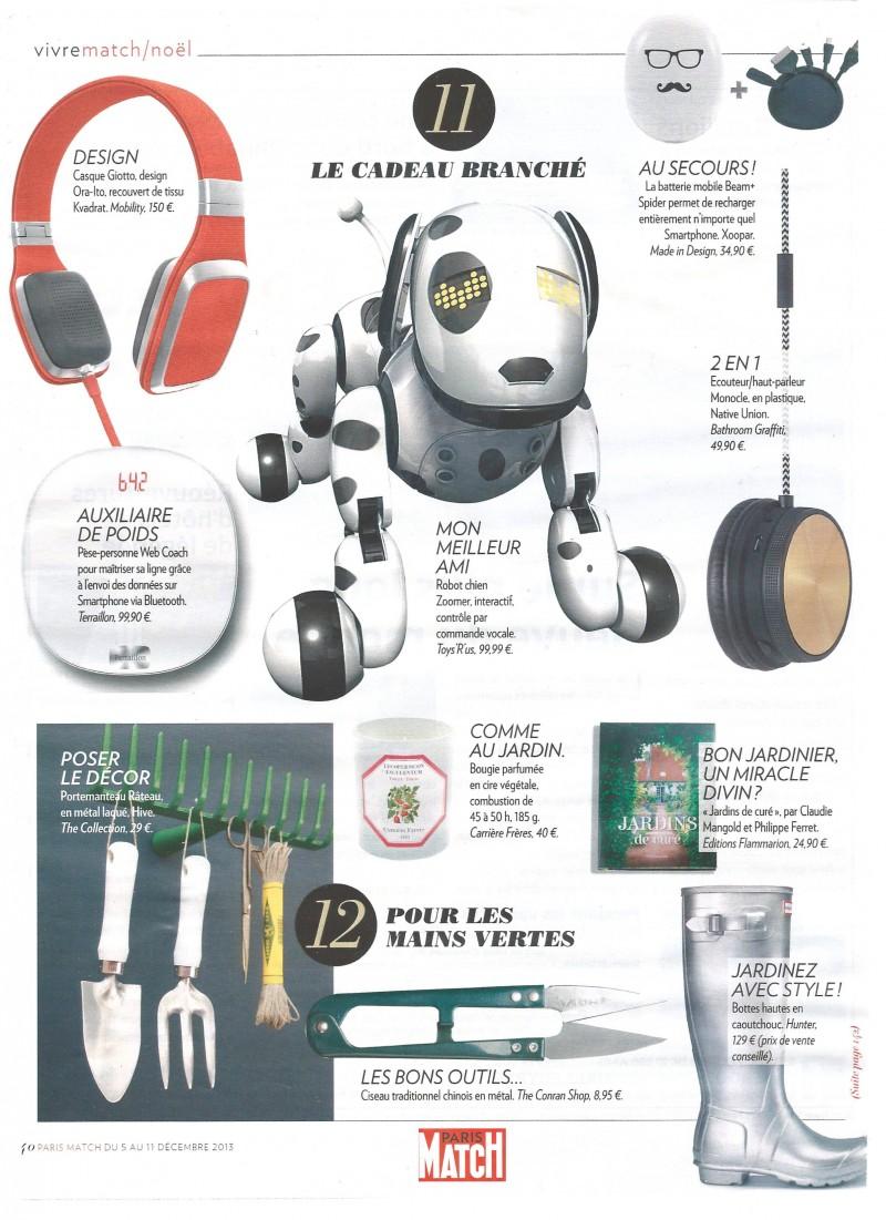Paris Match – November 2013