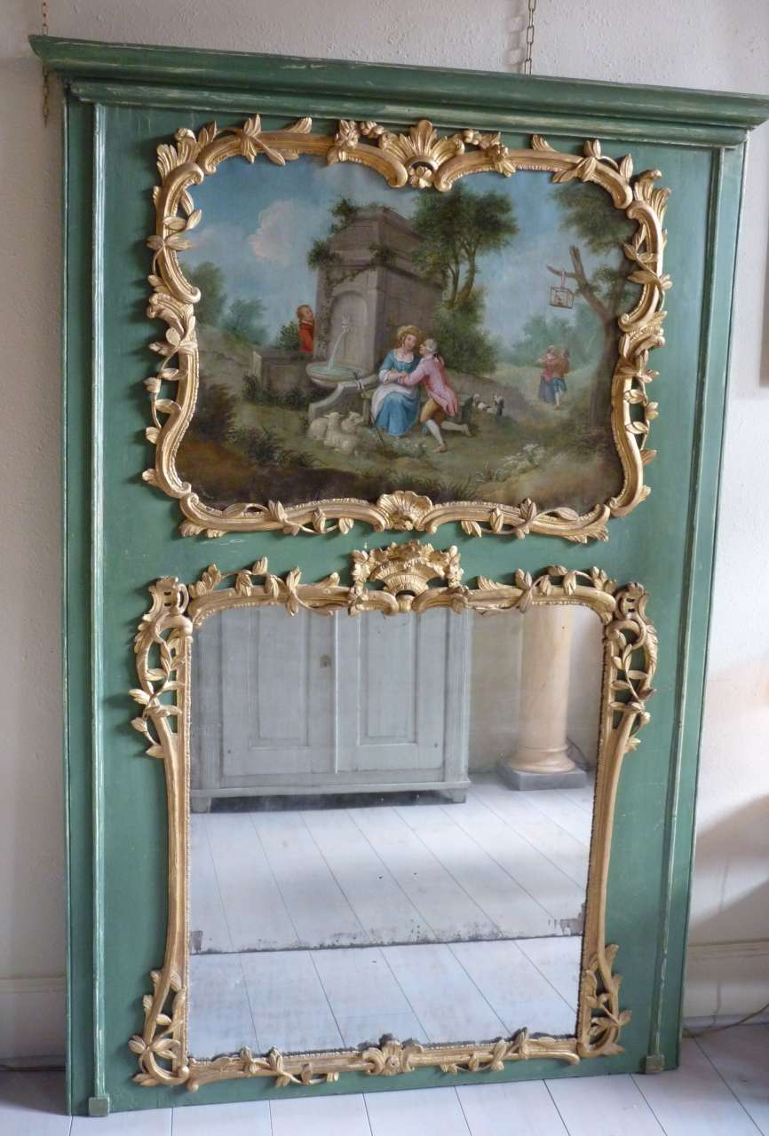Des origines du miroir nos jours the collection for Miroir louis xv