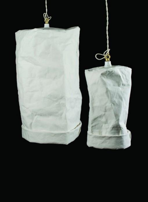 Suspension ou baladeuse en cellulose de papier by Uashmama
