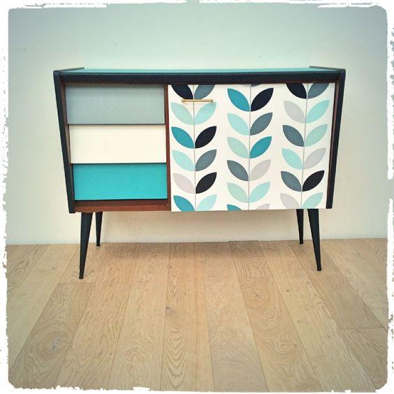 Customiser un meuble avec trois fois rien the collection - Meuble de rangement pour papier ...