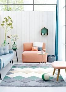 le pastel la grande tendance d co de la saison t 2016 the collection. Black Bedroom Furniture Sets. Home Design Ideas