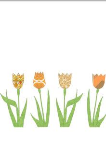 Inke orange tulips