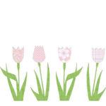 Inke pink tulips
