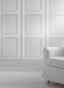 Boiseries blanches - Studio Mold
