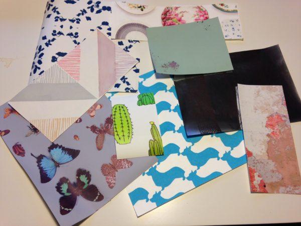 Echantillons papiers peints