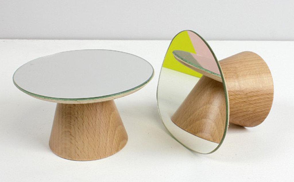 Miroir patère en bois BOLET
